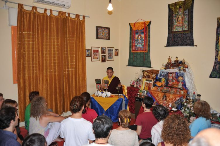 Empowerment and Transmission at the Rangjung Yeshe Gomde Center in Haifa - 2009