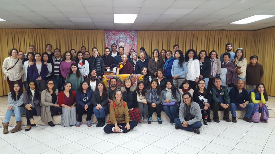 2017 Retreat in Peru