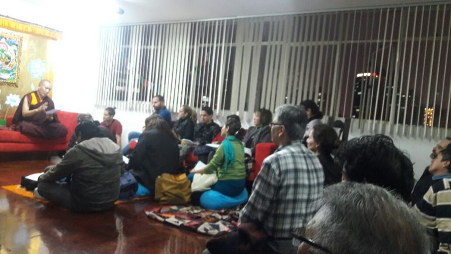 2016 - Vajrasattva Teaching and Practice in Lima