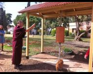 Prayer Wheel for World Peace in Israel - Consecration Ceremony 2014