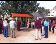 Prayer Wheel Consecration at Kibbutz Evron - 2014
