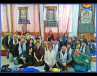 2015 Ngondro and Nyungne Retreat group picture