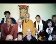 Israel 2006 - With His Holiness Dalai Lama
