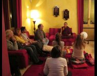Italy - Milan - Teaching for Practitioners in a Private Home - April 2014