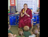 Rinpoche hosted by UK School - Greenhaugh - 2014