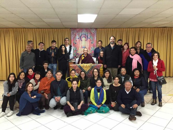 2016- Dream Yoga Retreat in Lima - group photo